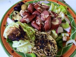 Hot dog Salad
