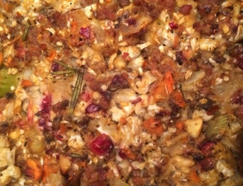 Sausage & Cranberry Stuffing
