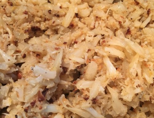Roasted Cauliflower Hash Recipe