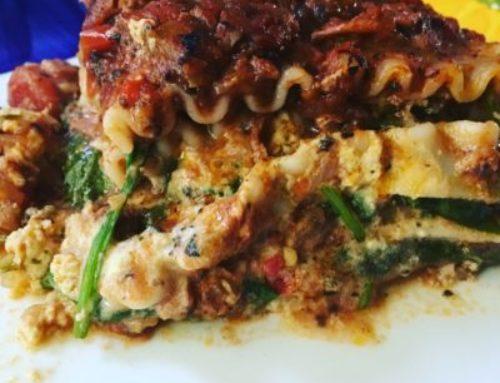Lasagna (dairy free & gluten free)