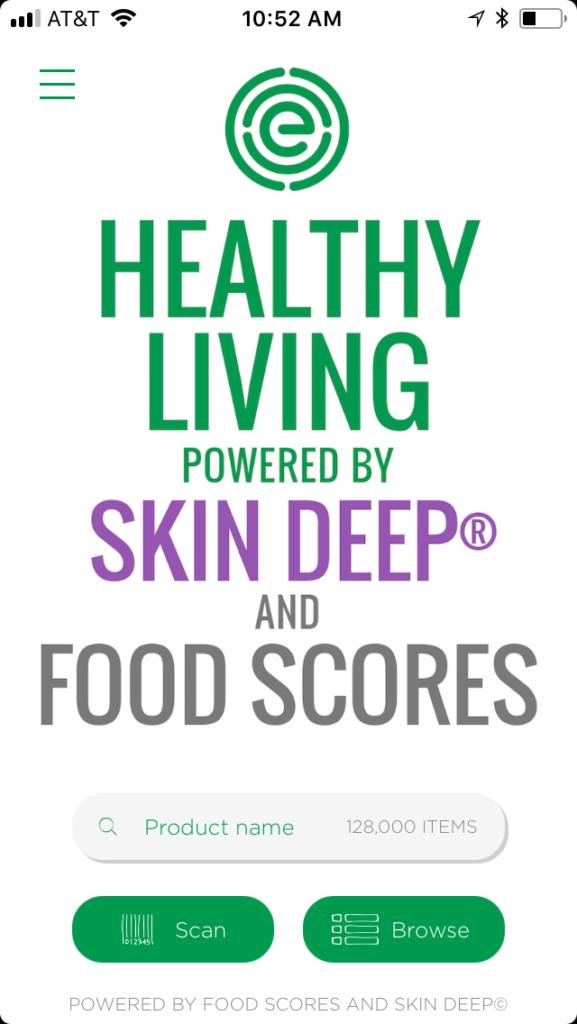Healthy App EWG